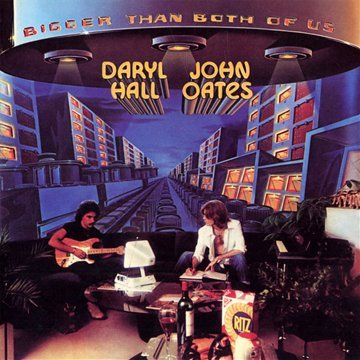 Hall & Oates Bigger Than Both of Us album cover
