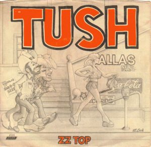 ZZ Top Tush album cover