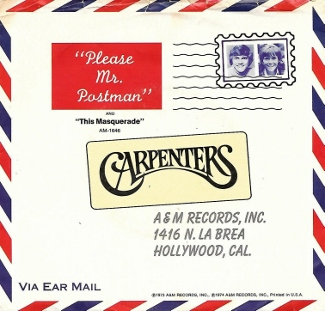 Carpenters Please Mr Postman-WTS20190712