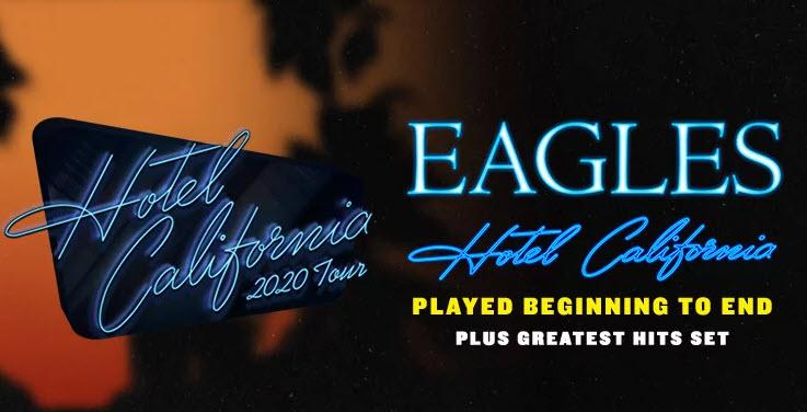 Eagles Hotel California Tour 2020 marqui