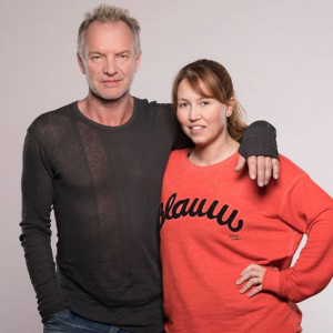 Sting and Lyndsey Prince photo by zoonationuk