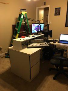 Boss Studios under construction